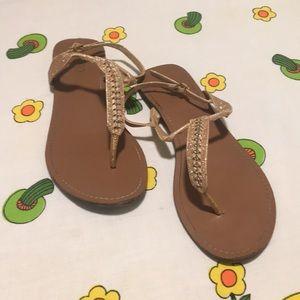 Bongo Gold Sandals